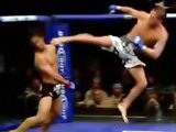 High kick en MMA