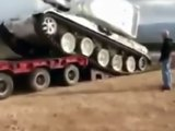 Charger un tank : Fail