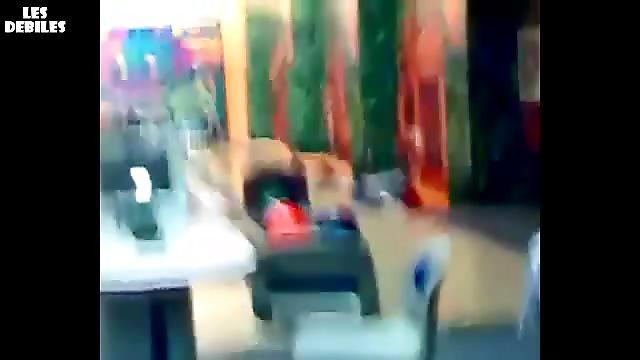 Papa fail au bowling