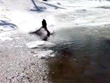 Ski sur lac : Fail