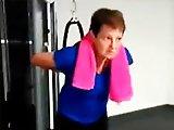 Maman fail à la salle de sport