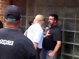 Ivrogne frappe un policier