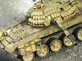 Tank vs terroriste