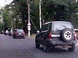 Accident de voiture en musique