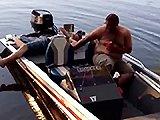 Ivrogne sur un bateau