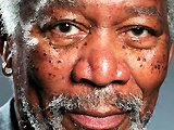 Morgan Freeman - Finger painting sur iPad