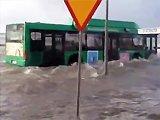 Un bus amphibie