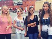 Quatre filles russes chantent une chanson…