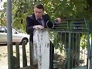 Un VRP russe qui entre chez son client