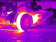 Une F1 en InfraRouge