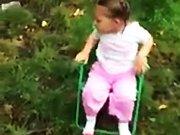 Une fillette de deux ans réalise le Ice…