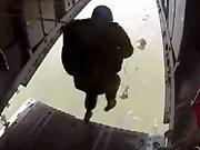 Un parachutiste mexicain fail