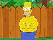 Homer Simpson et le Ice Bucket Challenge