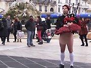 Rémi Gaillard milite pour une Écosse libre