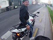 Vol à main armé sur un cycliste