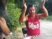 Un russe se fait mettre ko avec une souche…