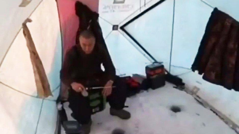 Pêche sur glace : Fail
