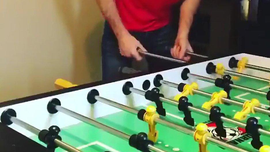 Geste technique au Baby-Foot