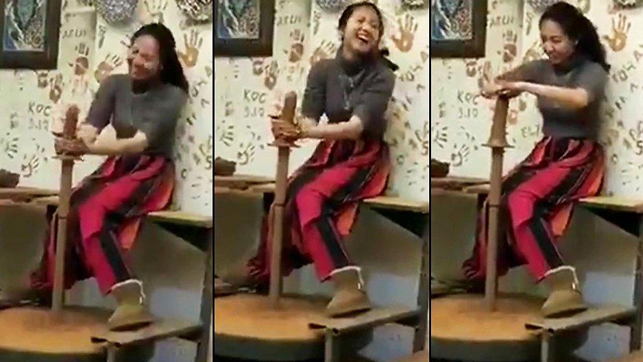 Quand une femme découvre la poterie