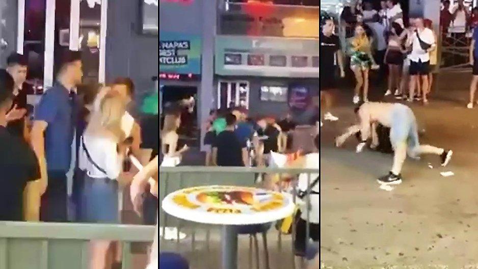 Un mec s'embrouille avec un guerrier MMA