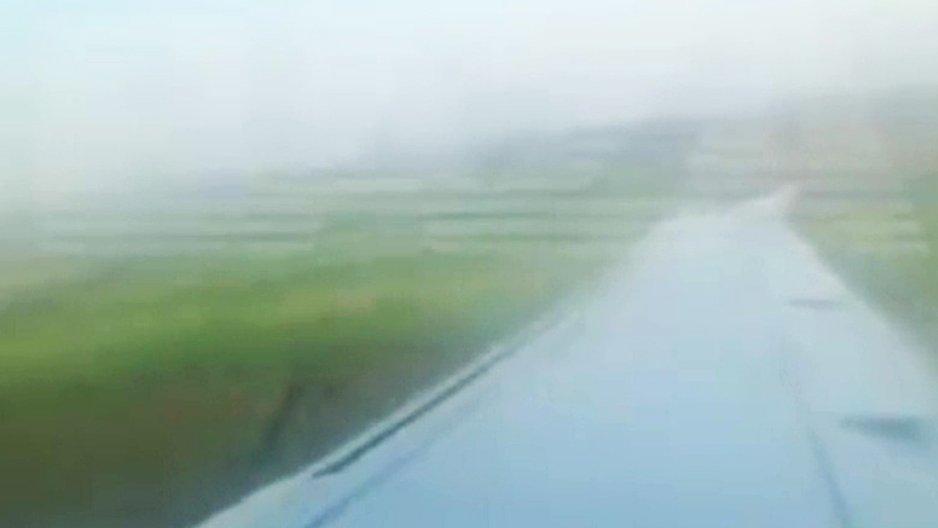 un Airbus percute des mouettes et atterrit dans un champs de maïs