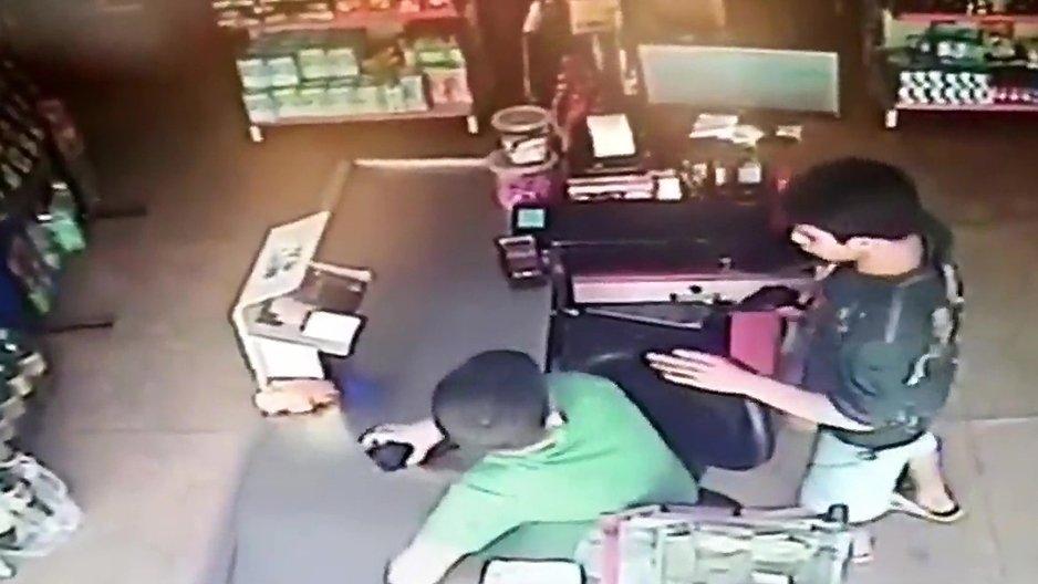 Un voleur non violent
