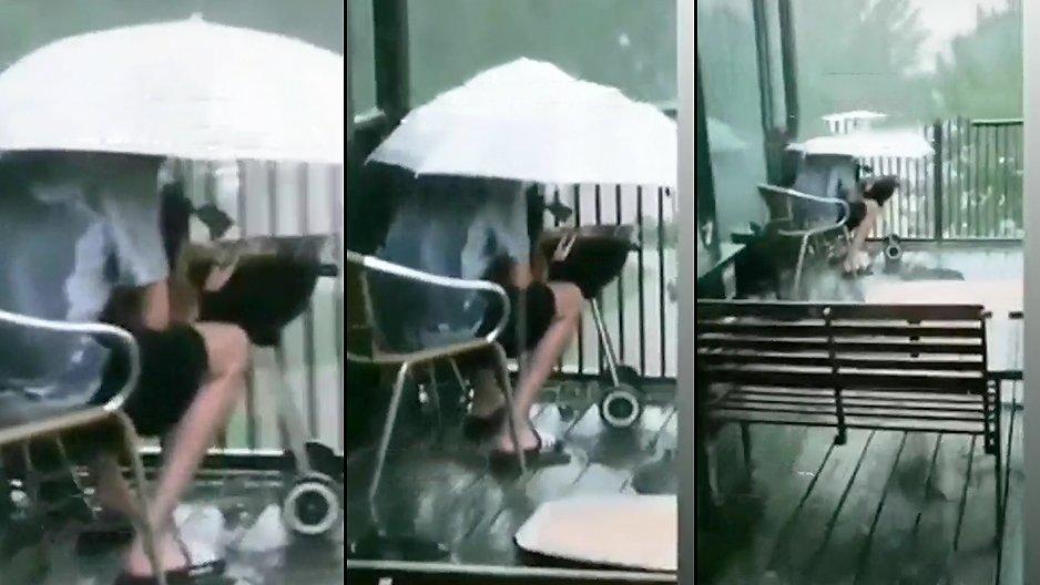 Faire un barbecue par temps de pluie