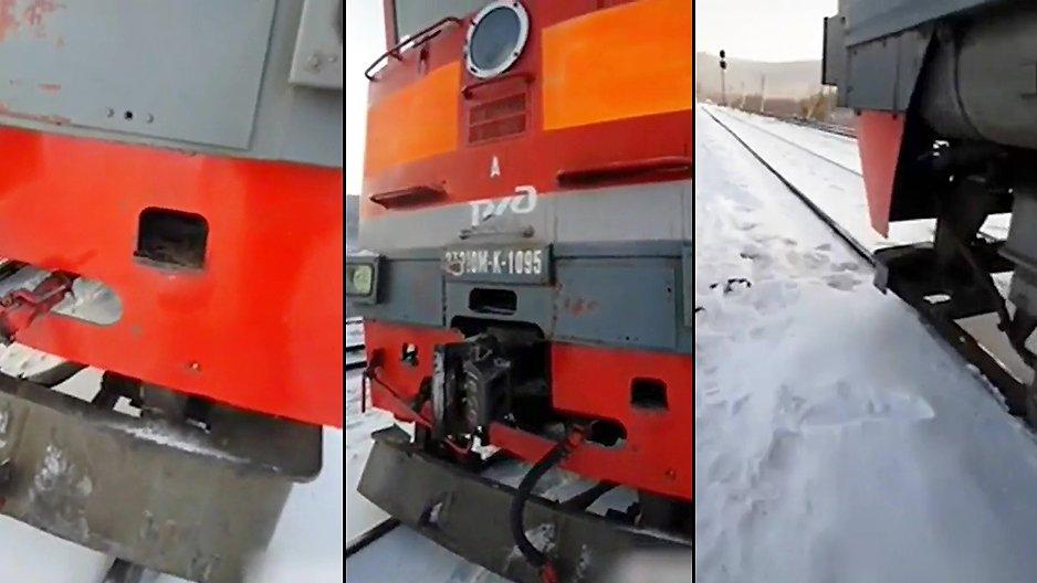 Modifier le klaxon d'un train
