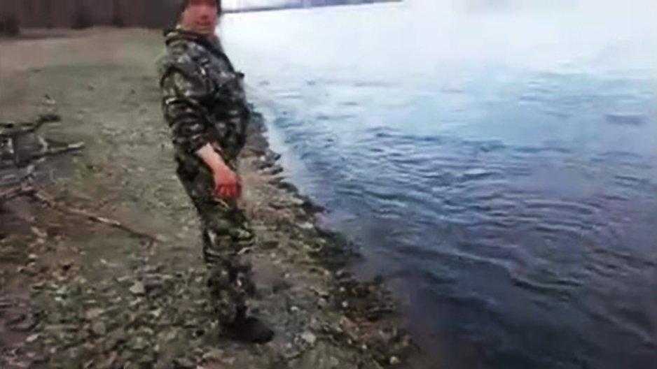 On pêche facilement en Russie