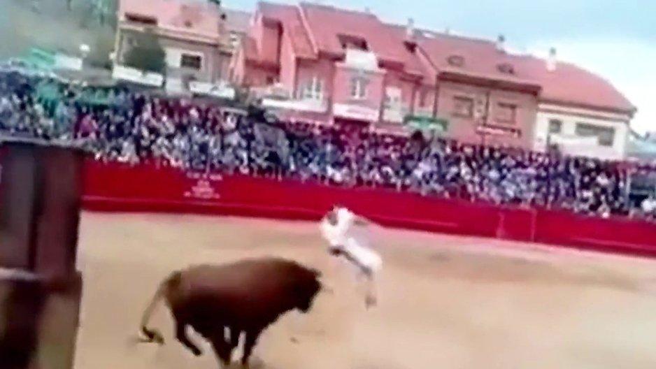 Sauter par-dessus un taureau