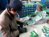 Ouvrier chinois et jeu de cartes