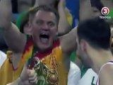 Supporter Lituanien complètement fou